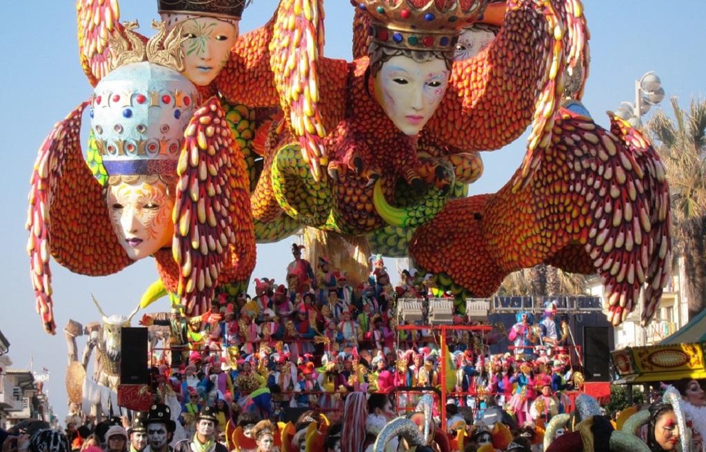 Carnevale di Viareggio - Toscana