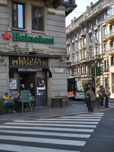 Bar Magenta e la Milano da Bere - Movie Walks