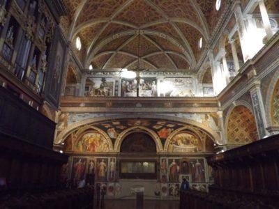Interno del Monastero Maggiore di San Maurizio a Milano - Movie Walks