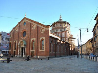 Chiesa di Santa Maria delle Grazie - Milano Movie Walks