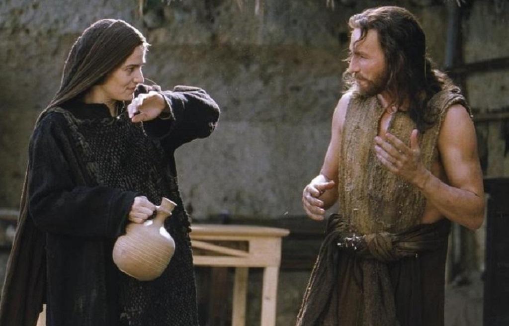 Maria e Gesù in La Passione di Cristo