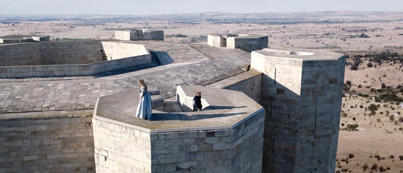 Castel del Monte scena del re e principessa