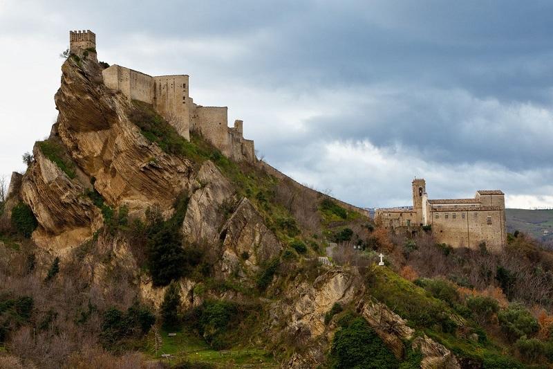 Castello di Roccascalegna a Chieti
