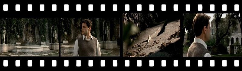 Pellicola del Film La Finestra di Fronte Monte Caprino