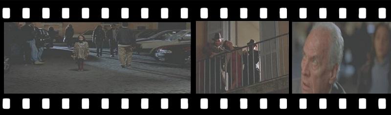 Pellicola del Film La Finestra di Fronte piazza Paganica