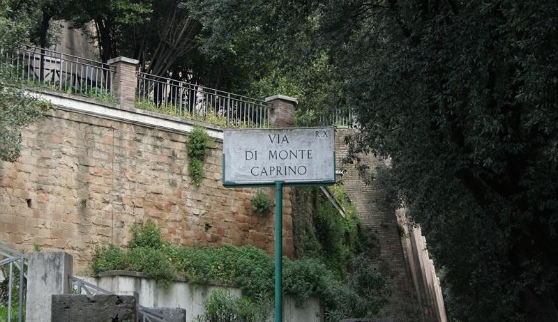 Via di Monte Caprino Roma