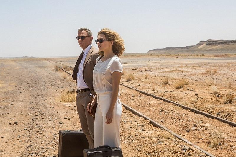 Craig e Swann nel deserto del Marocco
