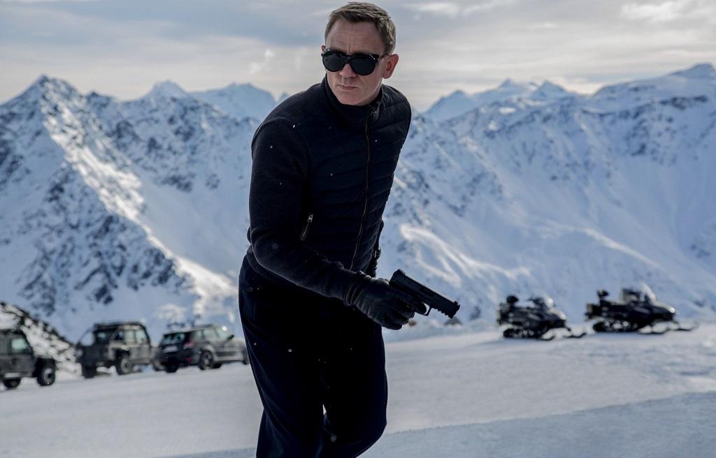 Daniel Craig tra le Alpi austriache