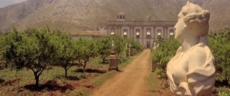 Villa Boscongrande nel film Il Gattopardo