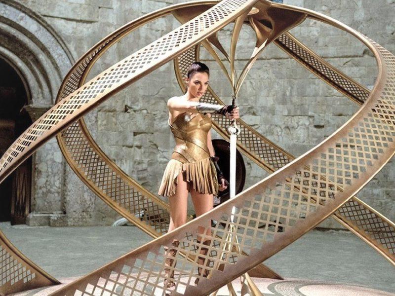 Wonder Woman a Castel Dalmonte