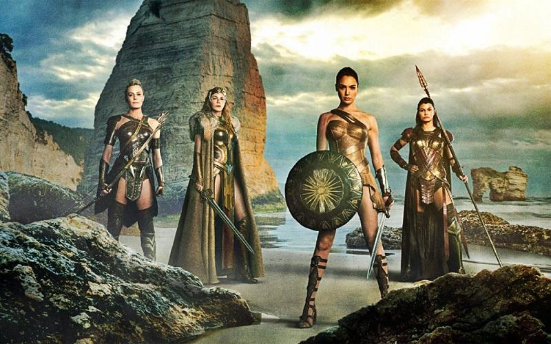 Wonder Woman copertina film