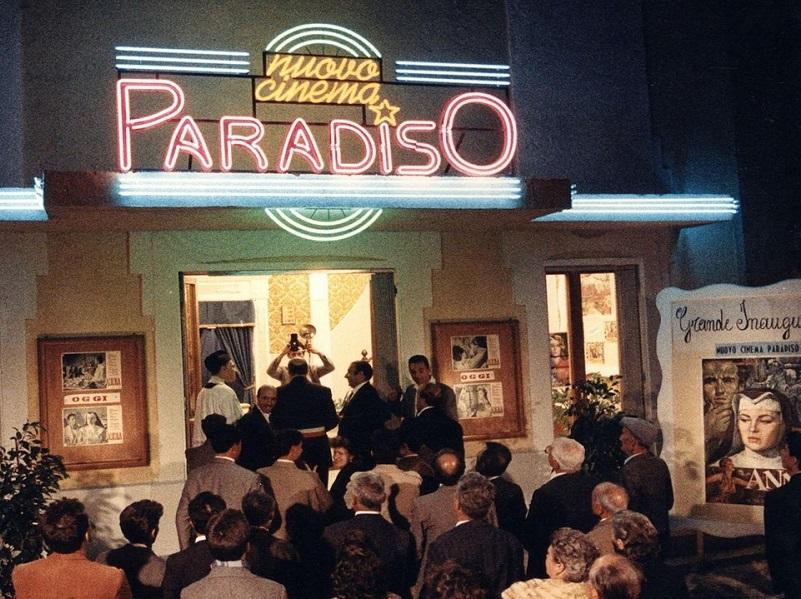fotogramma Nuovo Cinema Paradiso