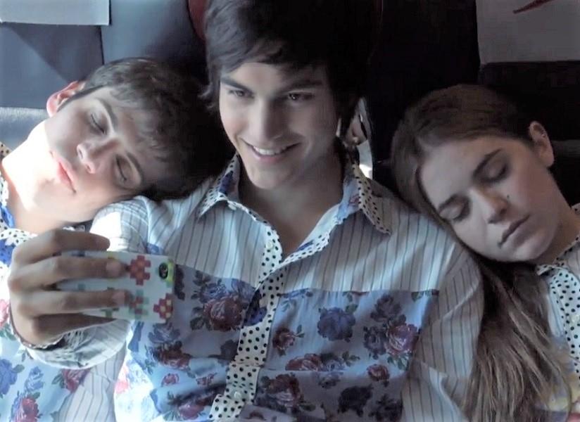 Blu, Lorenzo e Antonio