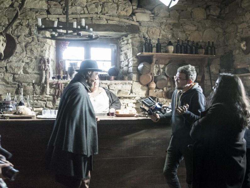 Scena film La Banda Grossi ad Apecchio