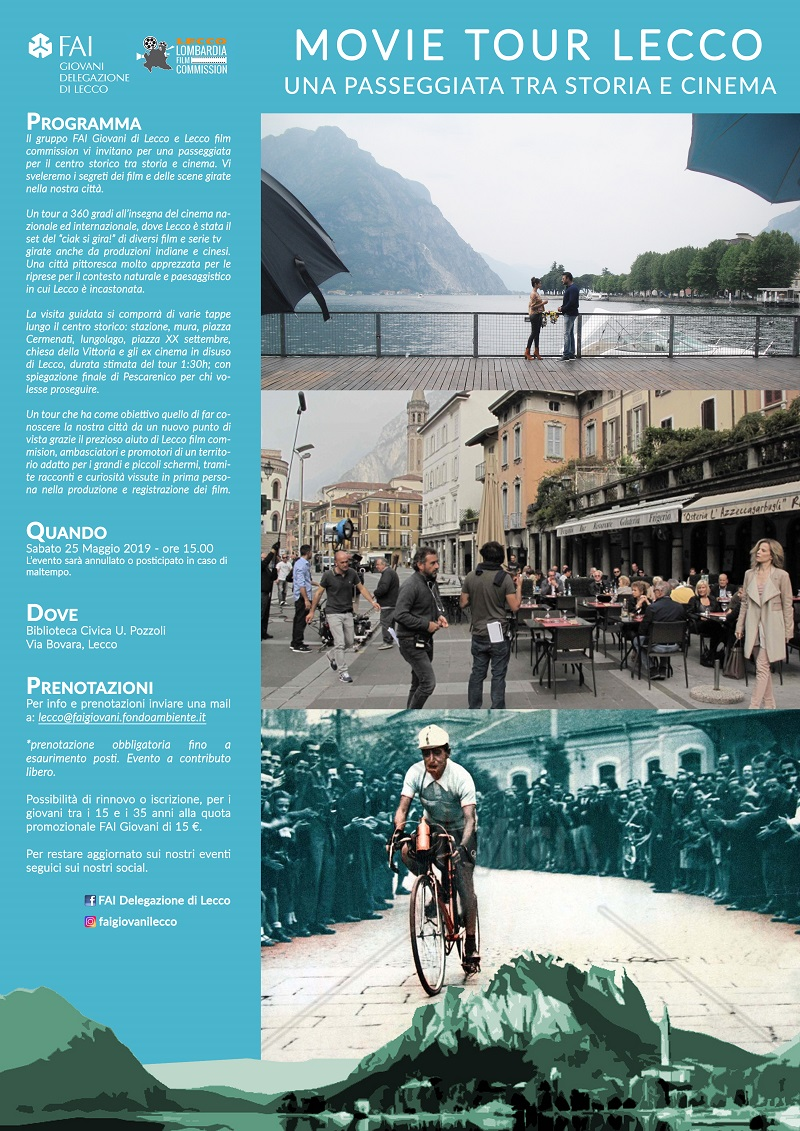 locandina Lecco movie tour